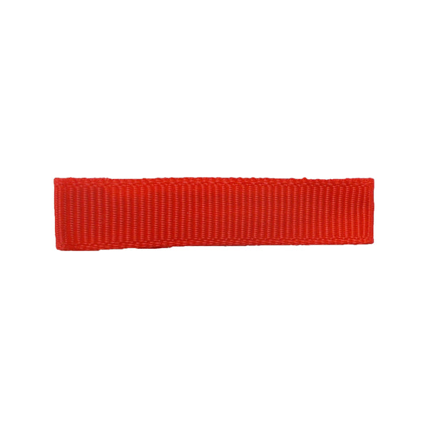 Red - Fully Lined - Single Prong Alligator Clip - 45mm