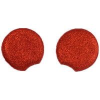 "Red - 2.75"" Glitter Mouse Ears"