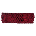 "Burgundy - 1.5"" Crochet Headband"