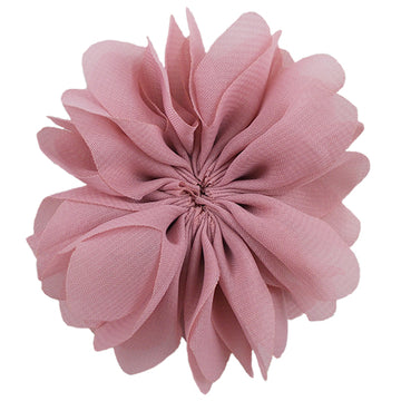 "Dusty Rose - 2.5"" Ballerina Flower"