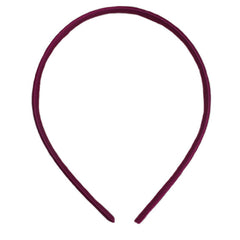 Berry - 7mm Satin Lined Headband