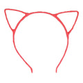 Neon Pink - Cat Ears Headband