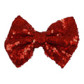 "Red - 4"" Sequin Bow"