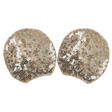"Light Gold - 3.25"" Sequins Mouse Ears"