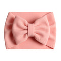 Dusty Peach - Liverpool Bow Headwrap