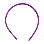Fuchsia - 10mm Satin Lined Headband