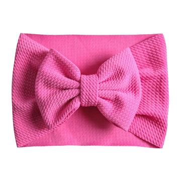 Fuchsia - Liverpool Bow Headwrap