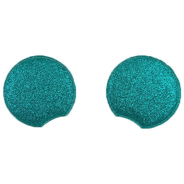 "Aquamarine - 2.75"" Glitter Mouse Ears"
