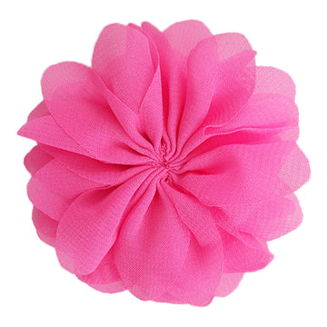 "Bright Pink - 2.5"" Ballerina Flower"