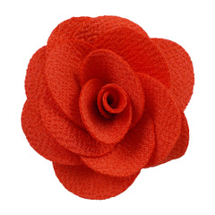 "Bright Red - 2"" Cloth Flower"
