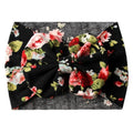 Black Garden - Jersey Knit Bow Headwrap