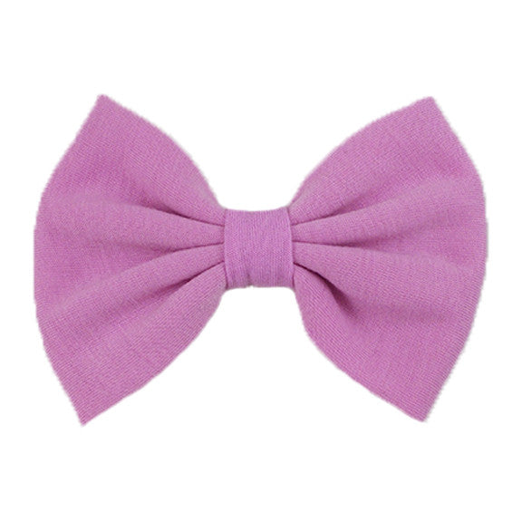 Light Pink - XL Jersey Knit Bow