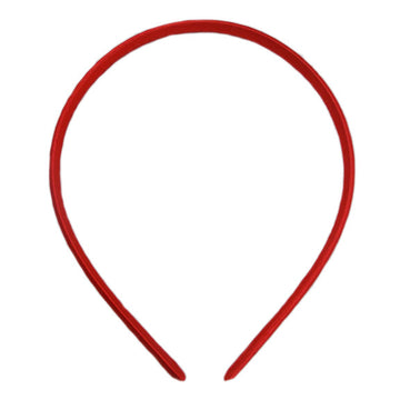 Red - 10mm Satin Lined Headband