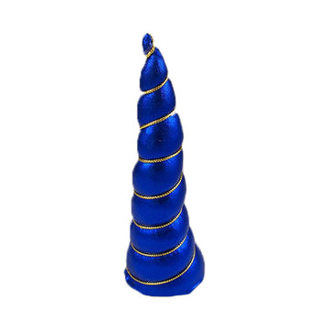 "Royal Blue - 5"" Padded Unicorn Horn"