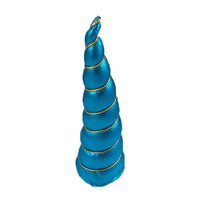 "Blue - 5"" Padded Unicorn Horn"