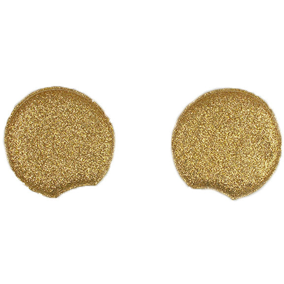 "Gold - 2.75"" Glitter Mouse Ears"