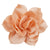 "Peach - 4"" Satin Lotus Flower"