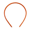Orange - 10mm Satin Lined Headband