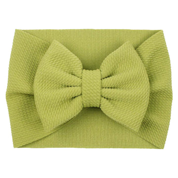Olive - Liverpool Bow Headwrap