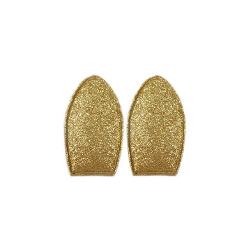 Gold Glitter - Padded Bunny/Deer Ears