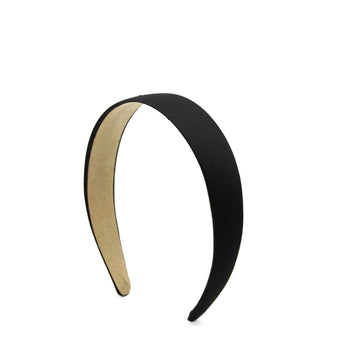 Black - 25mm Satin Lined Headband