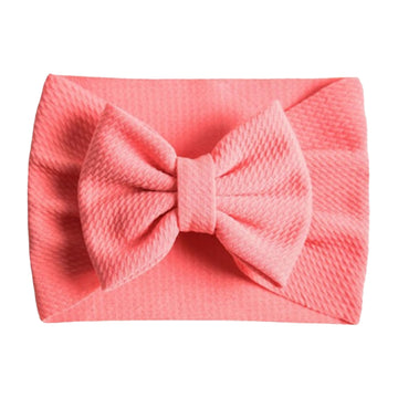 Light Coral - Liverpool Bow Headwrap