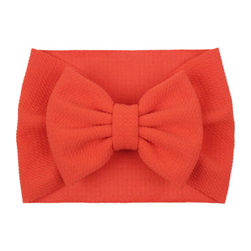 Orange - Liverpool Bow Headwrap