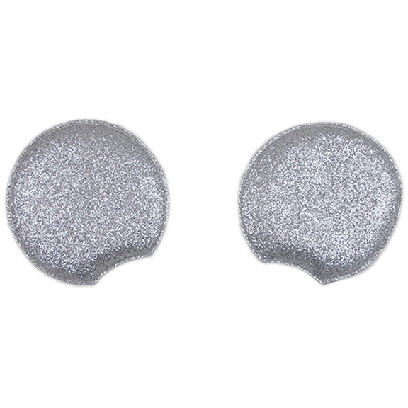 Silver - Glitter Padded Mouse Ears