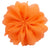 "Neon Orange - 2.5"" Ballerina Flower"