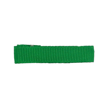Green - Partially Lined - Single Prong Alligator Clip - 45mm