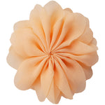 "Peach - 3.5"" Ballerina Flower"