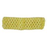 "Light Yellow - 1.5"" Crochet Headband"