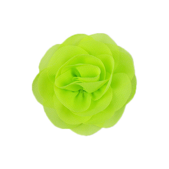 Chartreuse - Chiffon Blossom Flower