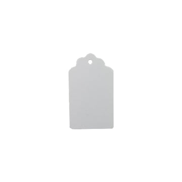"2"" White Jewelry Tags"