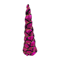 "Hot Pink Mermaid - 5"" Padded Unicorn Horn"