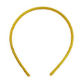 Yellow - 10mm Satin Lined Headband