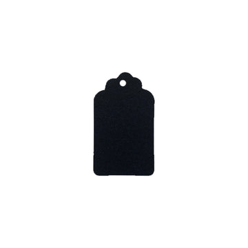 "2"" Black Jewelry Tags"