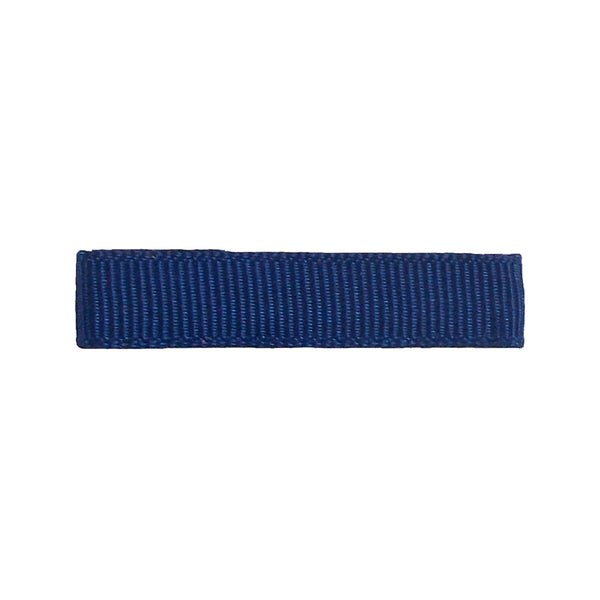 Navy Blue - Partially Lined - Single Prong Alligator Clip - 45mm