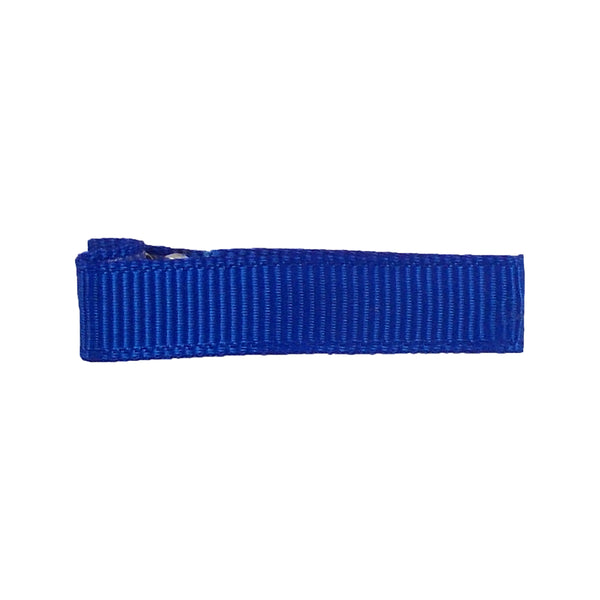 Royal Blue - Partially Lined - Single Prong Alligator Clip - 45mm