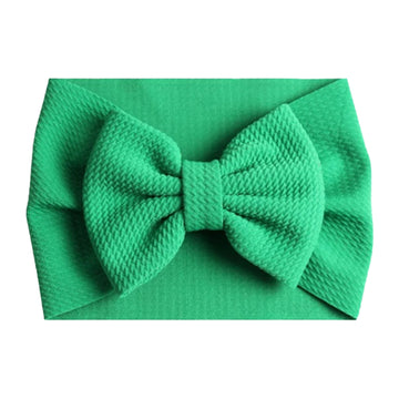 Green - Liverpool Bow Headwrap