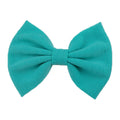 "Aquamarine - 5"" Jersey Knit Bow"