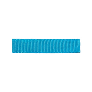 Blue - Partially Lined - Single Prong Alligator Clip - 45mm