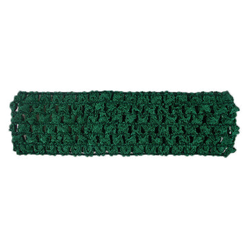 "Emerald Green - 1.5"" Crochet Headband"