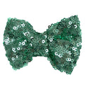 "Ocean Green - 4"" Sequin Bow"