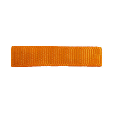 Orange - Fully Lined - Single Prong Alligator Clip - 45mm