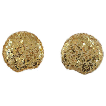 "Gold - 2.75"" Sequins Mouse Ears"