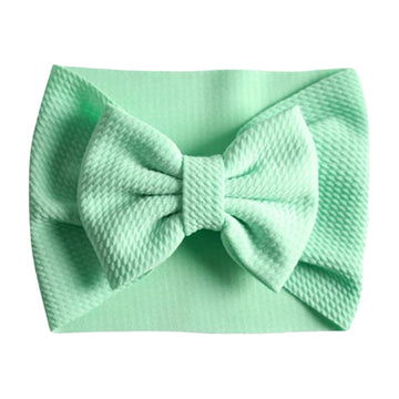 Mint - Liverpool Bow Headwrap