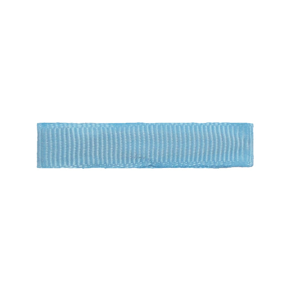 Light Blue - Partially Lined - Single Prong Alligator Clip - 45mm