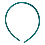 Teal - 10mm Satin Lined Headband