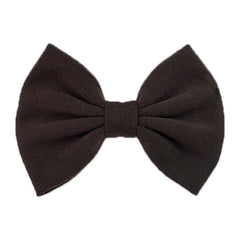 Brown - XL Jersey Knit Bow